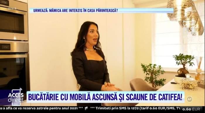 Acces Direct. Sosia lui Kim Kardashian locuiește în casa în care a stat Gabi Luncă! Cum a transformat Georgiana reședința într-un palat! / VIDEO