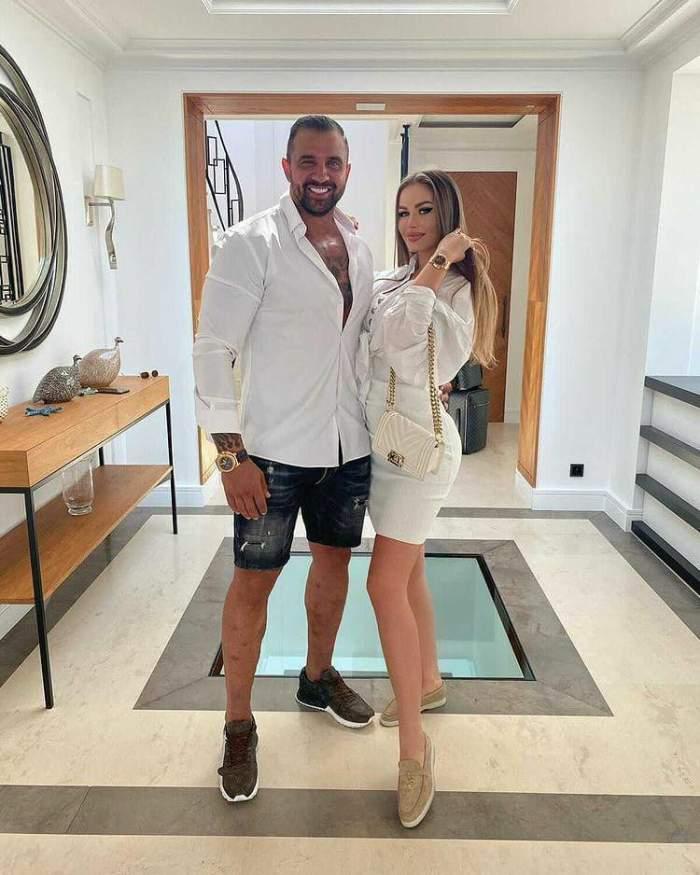 Alex Bodi și Daria Radionova în vacanță.