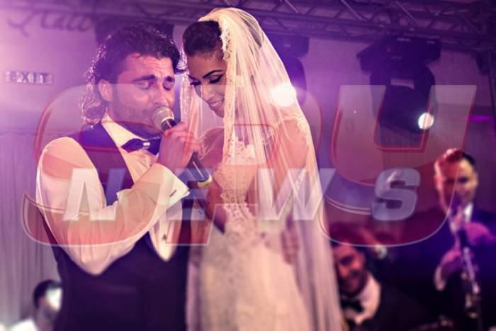 Pepe și Raluca Pastramă în ziua nunții lor.