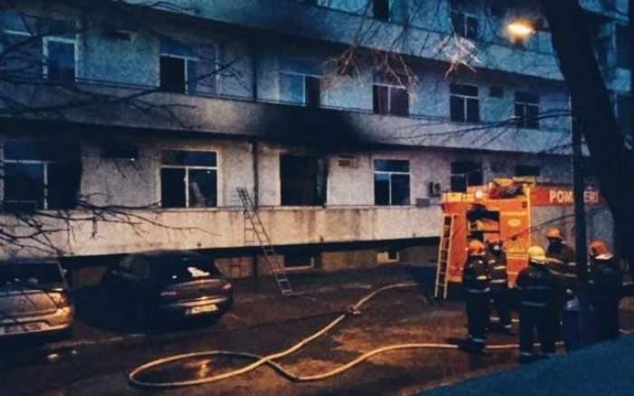 Încă o persoană a murit în incendiul de la Matei Balș! Bilanțul a ajuns la 7 morți