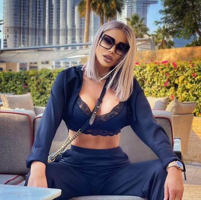Bianca Drăgușanu, fotografie de senzație în Dubai! Frumoasa blondină și-a etalat formele apetisante la piscină / FOTO