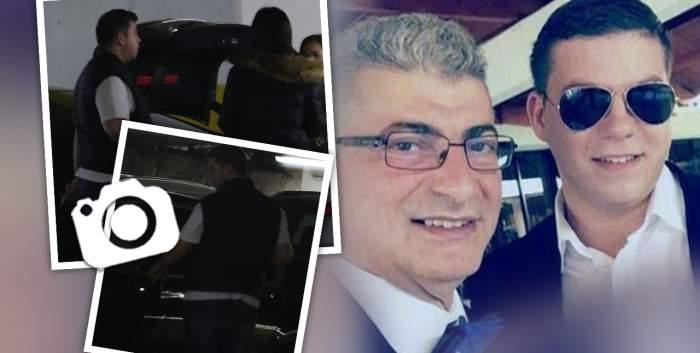 """Silvius Prigoană a trecut de la restaurantele de fițe, la fast-food în parcare! Fiul politicianului și-a """"răsfățat"""" iubita după buget / PAPARAZZI"""