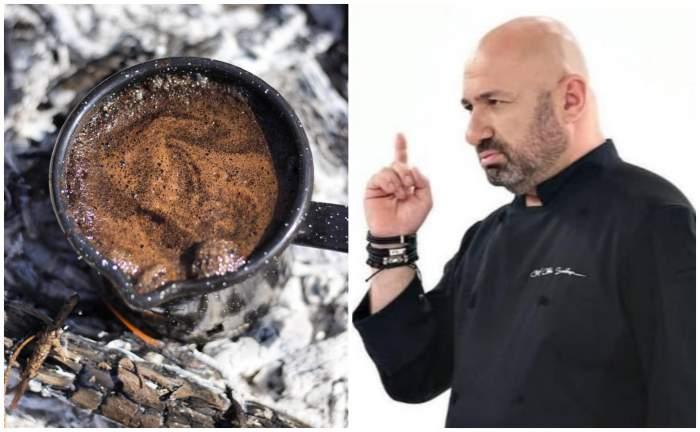 Secretul celei mai bune cafele turcești, la ibric. Chef Cătălin Scărlătescu a explicat totul, pas cu pas / VIDEO
