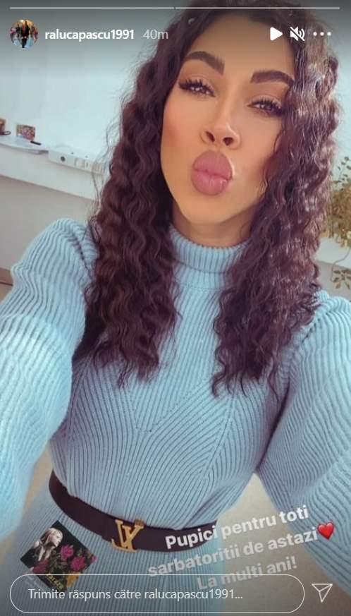 raluca pastrama selfie
