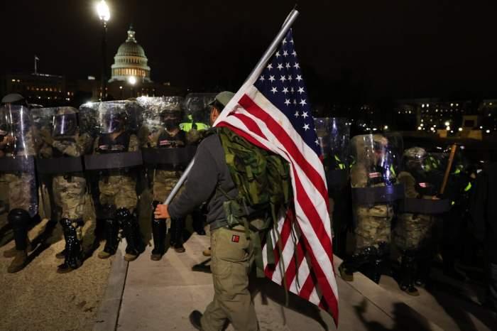 Forțe de ordine la protestele din Washington
