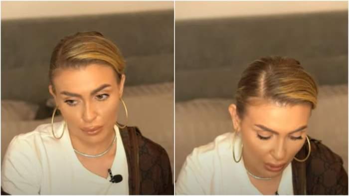 Captură video cu Oana Radu.