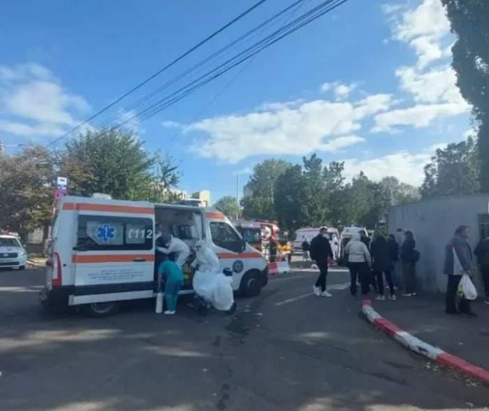 Incendiu la secția ATI a Spitalului de Boli Infecțioase Constanța. S-au înregistrat șapte decese