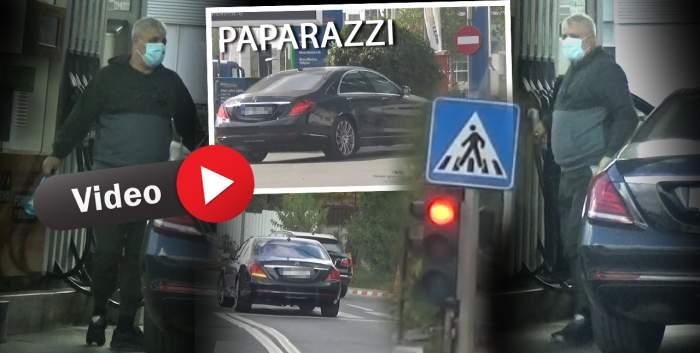 Marius Șumudică și când n-are de lucru, își face. Antrenorul, prins în offside pe străzile din Capitală. Vedeta a încălcat toate regulile de circulație pentru a se răcori, atât el, cât și mașina / PAPARAZZI