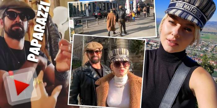 """Lidia Buble, declarații exclusive la braț cu noul iubit. """"Suntem bine, suntem fericiți!"""" Cum au fost surprinși cei doi de paparazii Spynews.ro"""