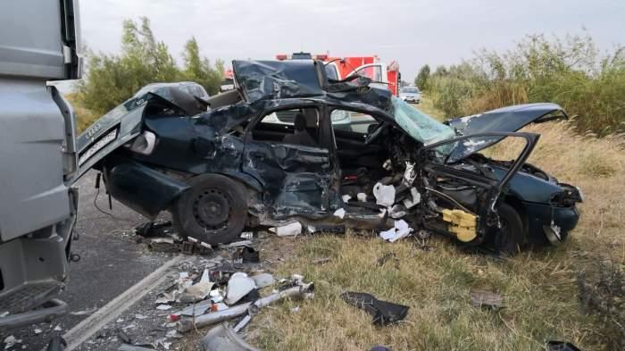 accident masina mures