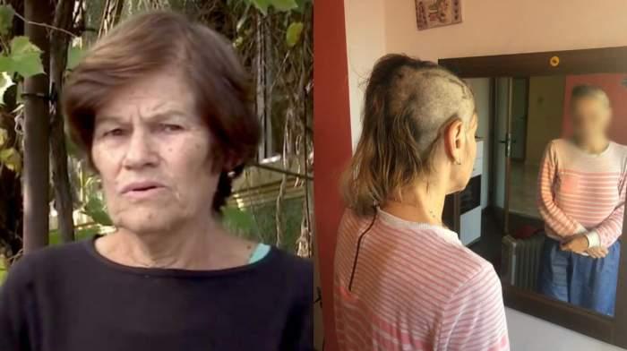 """Mama contabilei care a fost torturată de copiii patronului din Bihor, mărturisiri șocante: """"Era în pielea goală și tunsă cheală"""" / VIDEO"""