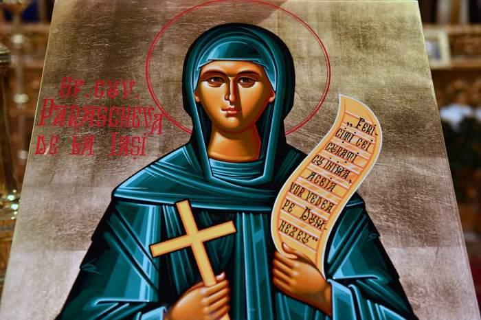 Icoană cu Sf. Parascheva