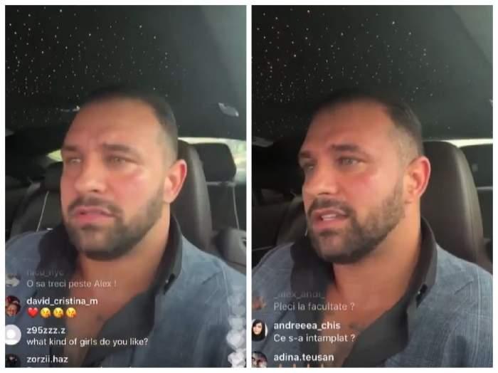 Alex Bodi, în live pe Instagram