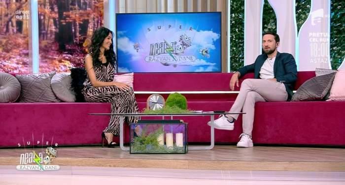 """Ce face Dani Oțil atunci când plânge copilul. Ce răspuns ironic a dat prezentatorul TV, în direct: """"L-am băgat în cuptor"""""""