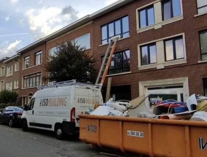Un român a murit pe loc, după ce a căzut de la o înălțime de 8 metri. Bărbatul renova o clădire, în Belgia / FOTO