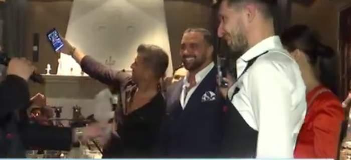 Ce a făcut Alex Bodi cu doar câteva ore înainte de a fi arestat. Imagini exclusive de la botezul unde a fost naș / VIDEO