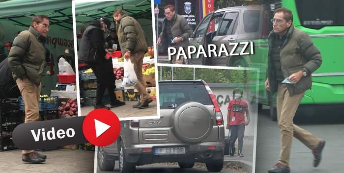 De dragul copilului, Petre Roman a uitat de regulile de circulație. Cum a fost surprins fostul politician în trafic alături de fiul său / PAPARAZZI