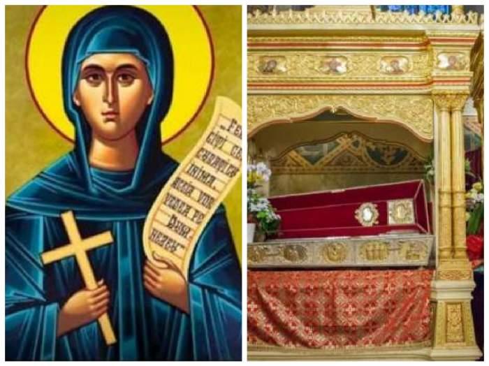 Icoanp Sfânta Parscheva / moaște