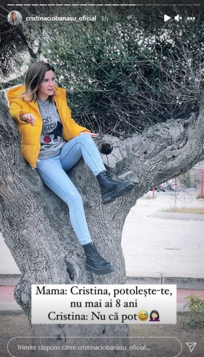 """Cristina Ciobănașu, pentru prima oară în Italia, la mama ei. Cum a fost revederea pentru actriță: """"Nu știam ce să ne povestim mai repede"""" / FOTO"""