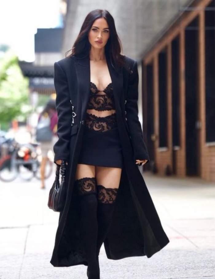 """Megan Fox suferă de dismorfie corporală. Actrița nu se vede frumoasă, așa cum o consideră o lume întreagă: """"Am multe nesiguranțe profunde"""""""