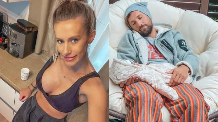 Ce face Gabriela Prisăcariu în lipsa soțului. Ce a postat vedeta pe rețelele de socializare: ''Shh! Să nu afle Dani'' / FOTO