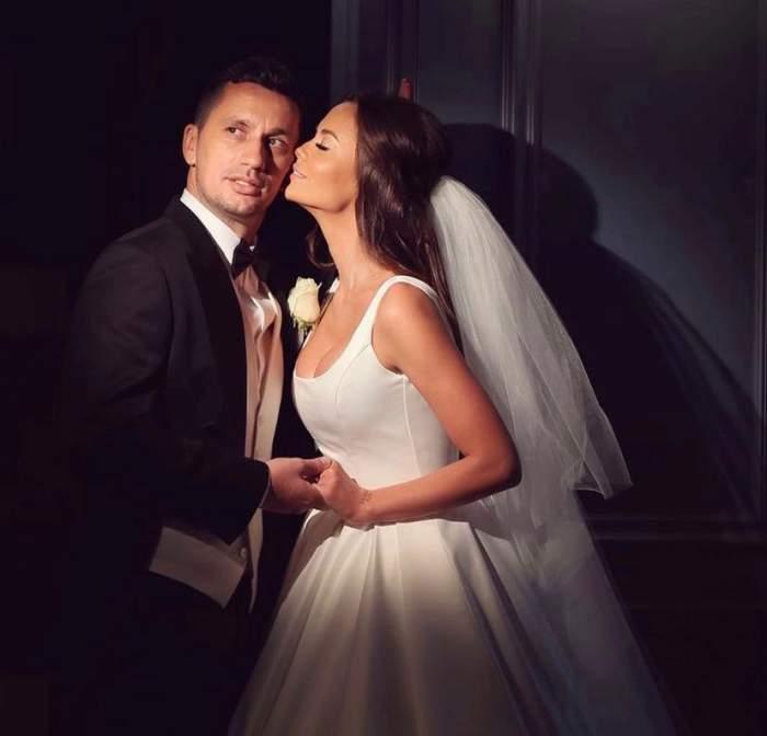 """Flick și Denisa Filcea sărbătoresc un an de la cununia religioasă. Ce a declarat vedeta în direct la Antena Stars: """"A fost magic"""" / VIDEO"""