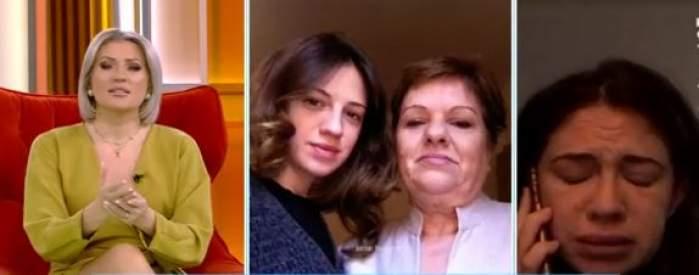 Colaj foto cu Iulia Stănescu, mama sa și Mirela Vaida