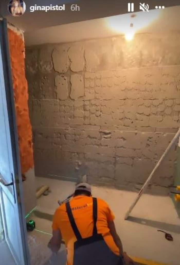 Gina Pistol își renovează casa! Vedeta le-a arătat internauților imagini din locuința care va fi gata curând / FOTO