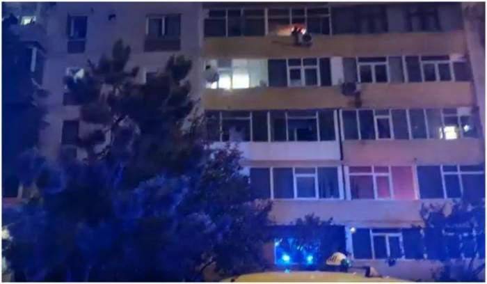 O femeie din Pitești a murit după un incendiu pornit de la o lumânare / VIDEO