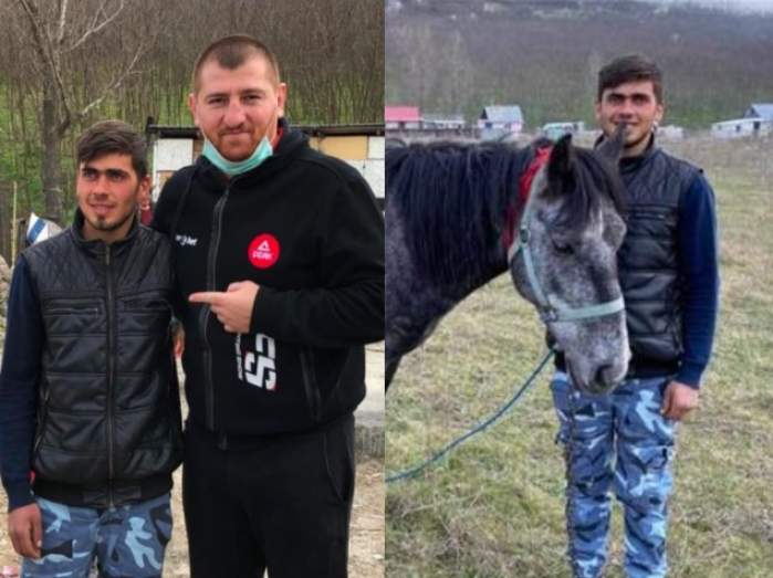 """Cătălin Moroșanu despre Sergiu, tăticul călăreț: """"Strângea fier vechi cu căruța"""". Unde a ajuns tânărul să locuiască acum"""