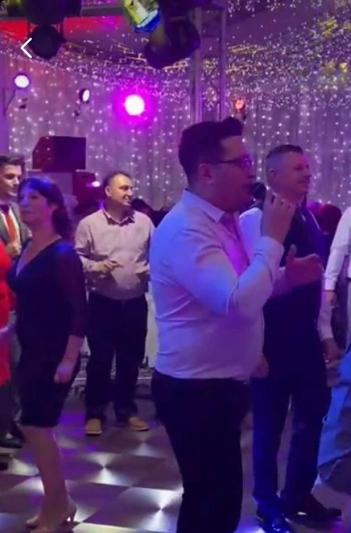 Unchiul lui Jador, show de zile mari la un eveniment. Invitații au rămas șocați atunci când Iulian Dumitrache a început să cânte / VIDEO