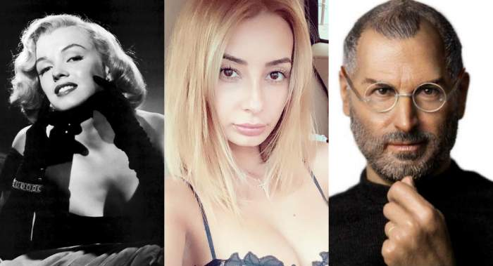 Colaj DJ Harra, Marilin Monroe și Steve Jobs