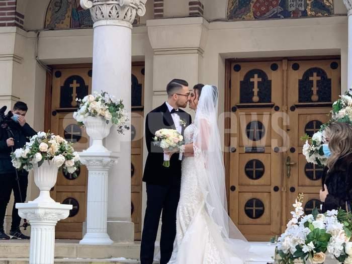 andrei iordanescu si sotia sa la nunta