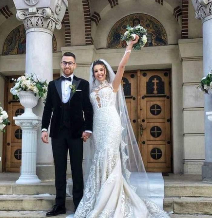 andrei iordanescu la nunta cu sotia
