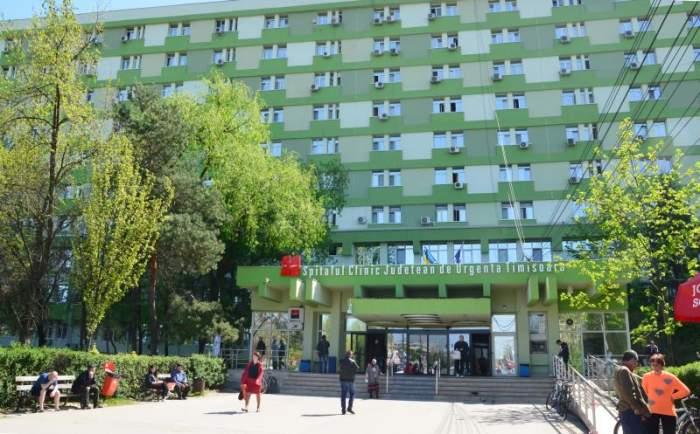 Un bărbat internat la Spitalul Judeţean din Timişoaraa căzut în gol de la etajul nouă. Medicii nu au mai putut face nimic pentru el