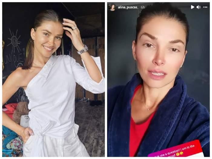 Alina Pușcaș pe Instagram