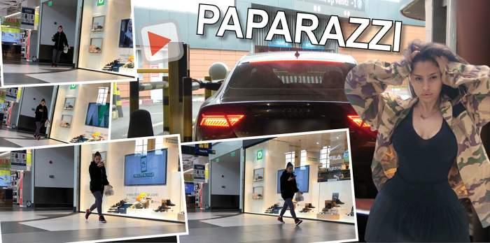Iubita lui Florinel Coman, blocată în parcarea mall-ului! Ioana Timofeciuc, surpriză neplăcută la ieșire / PAPARAZZI