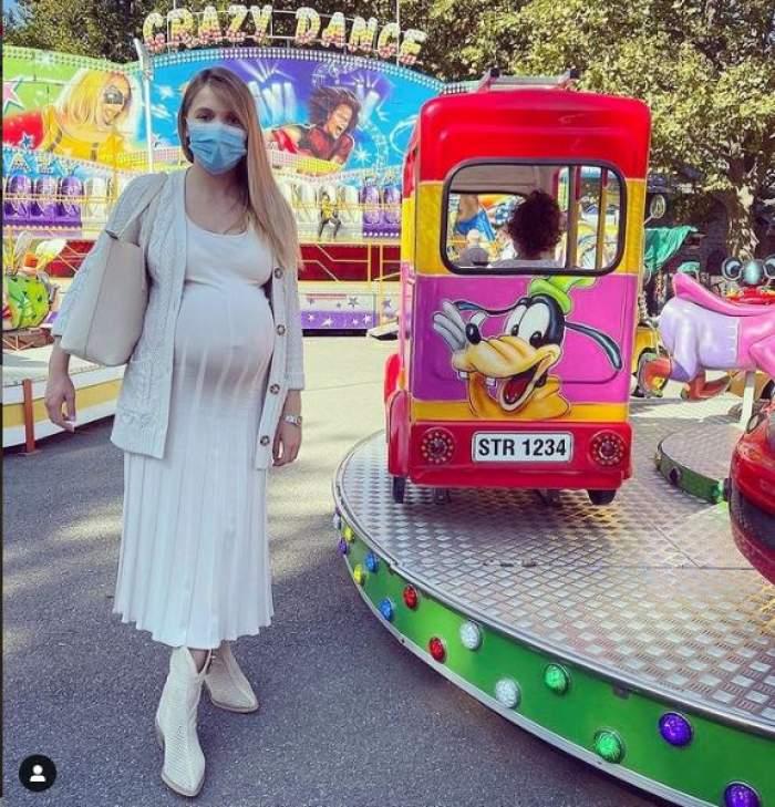 Când va naște Andreea Ibacka. Actrița a făcut anunțul pe internet / FOTO