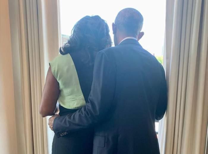 Barack Obama și Michelle Obama au aniversat 29 de ani de căsnicie. Fosta Primă Doamnă a Americii a publicat o imagine de colecție / FOTO