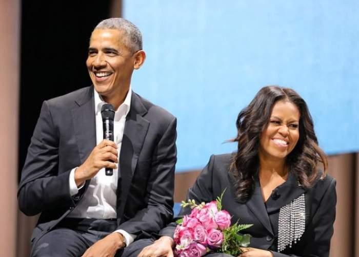 Barack Obama și Michelle Obama, împreună la un eveniment