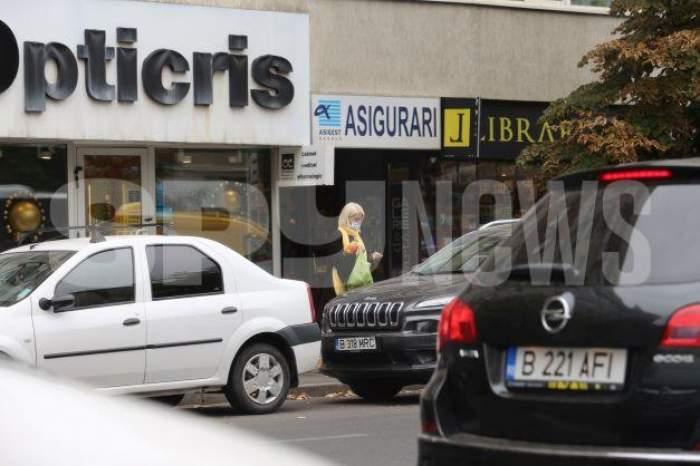 Iuliana Marciuc nu mai ține cont de reguli, atunci când este pe grabă! Paparazzii Spynews au prins-o în fapt pe partenera lui Adrian Enache / PAPARAZZI