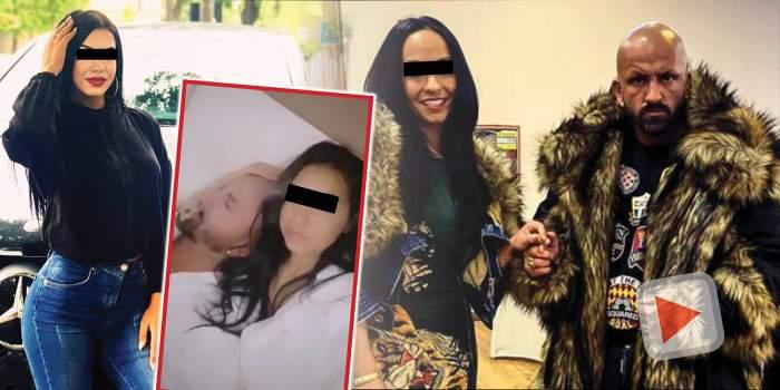 VIDEO / Lider al grupării Sportivilor, filmat în pat cu o puștoiacă / Imagini exclusive cu tânăra de 18 ani