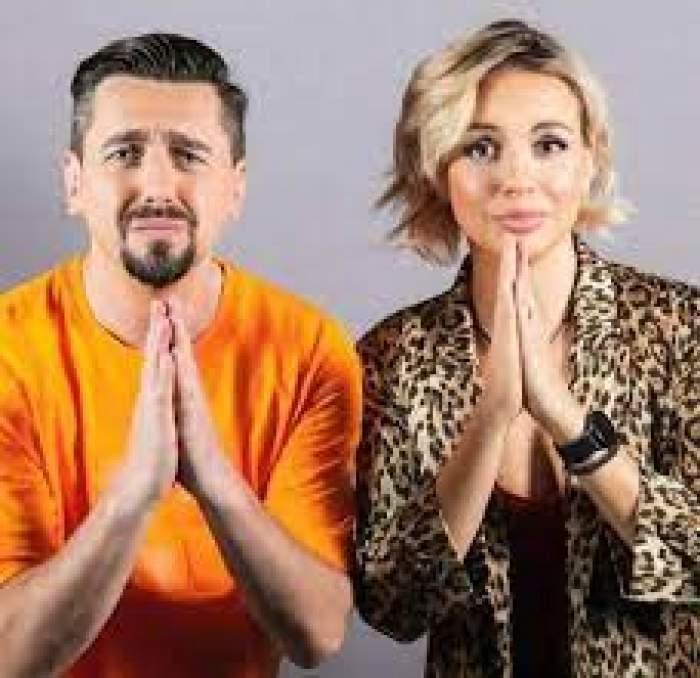 Eliza și Cosmin Natanticu se roagă