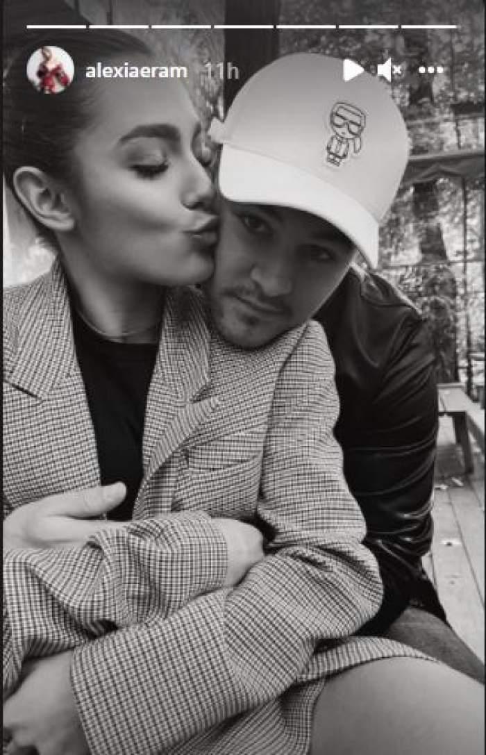 Alexia Eram și Mario Fresh, fotografiați în timp ce se sărută. Acum e clar pentru toată lumea că sunt iar împreună / FOTO