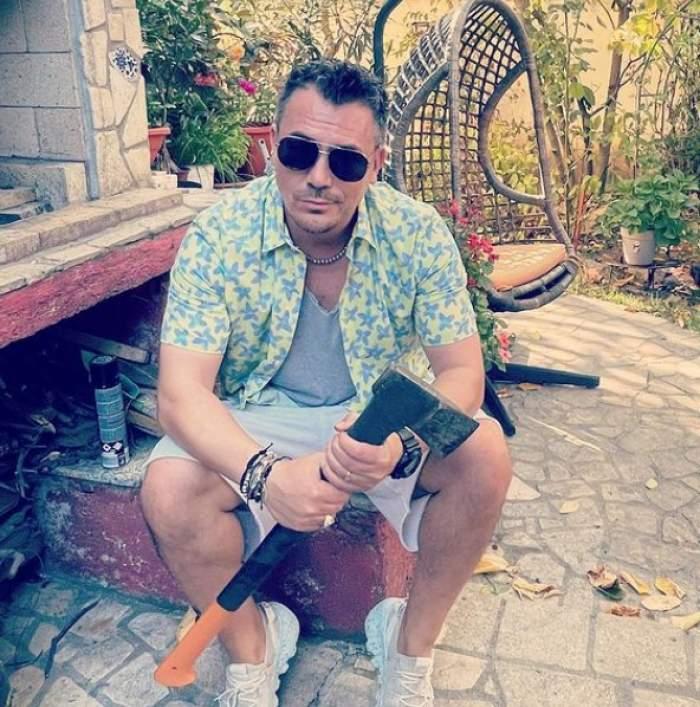 """Motivul pentru care Răzvan Fodor poartă ochelari de soare când este înnorat. Reacția prezentatorului când i-a fost atrasă atenția: """"Caut vara ..."""""""