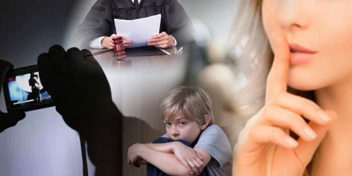 Perversă care abuza sexual minori aflați în grija DGASPC, lăsată printre copii / Pedeapsă cu suspendare pentru pornografie infantilă