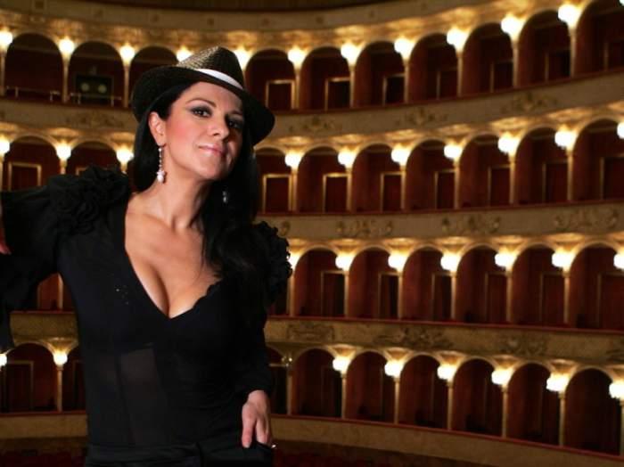 Angela Gheorghiu, la operă