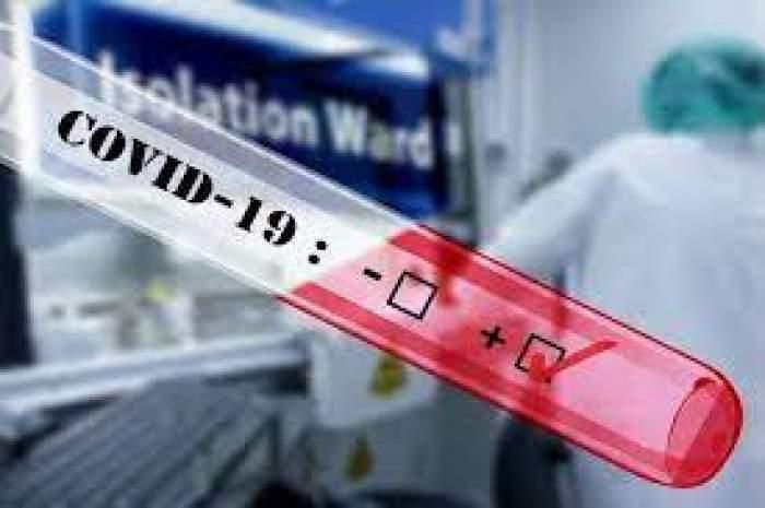 O epubretă care arată infectarea cu noul COVID-19