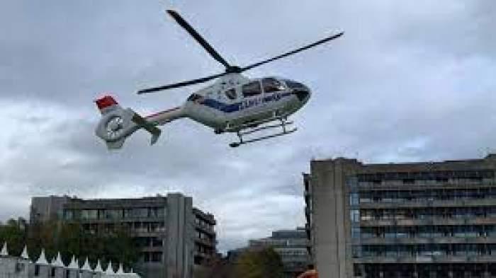Trei pacienţi cu COVID-19 în stare gravă au fost transferați de urgență pe cale aeriană de la Bucureşti la Târgu Mureş