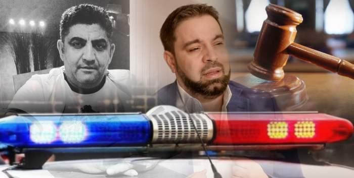 Liderul interlopilor care l-au jefuit pe Florin Salam, scandal cu poliția / I-a chemat pe agenți în fața instanței